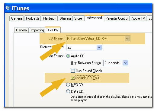 Download TuneClone to convert DRM protected WMA and iTunes M4P to MP3, WAV